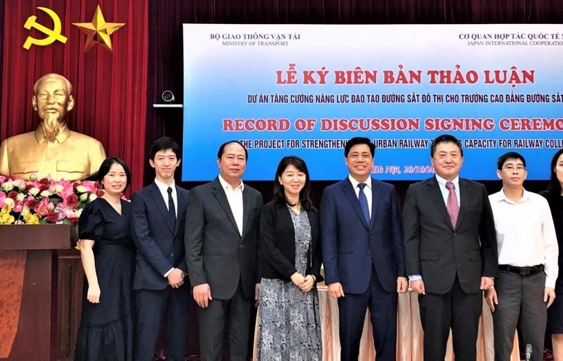 JICA hỗ trợ Việt Nam tăng cường năng lực đào tạo nhân lực đường sắt đô thị