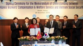 Bảo hiểm xã hội Việt Nam ký Bản ghi nhớ hợp tác với KCOMWEL