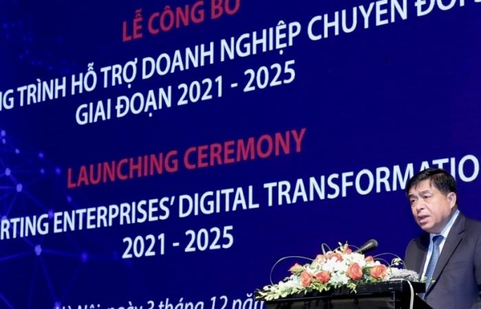 Khoảng 100.000 doanh nghiệp được hỗ trợ kỹ thuật về chuyển đổi số giai đoạn 2021-2025