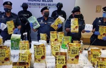 Thu giữ 184kg ma túy tại sân bay quốc tế Kuala Lumpur