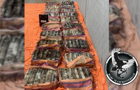 Thu giữ số cocaine trị giá 105 triệu euro
