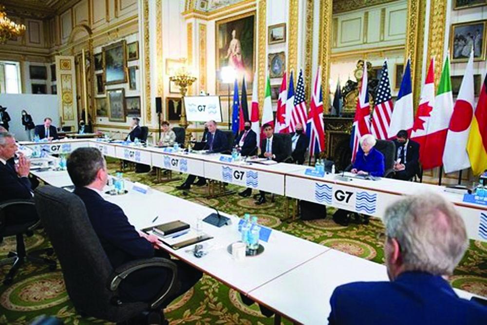 G7 đã đạt được đồng thuận cải cách hệ thống thuế toàn cầu