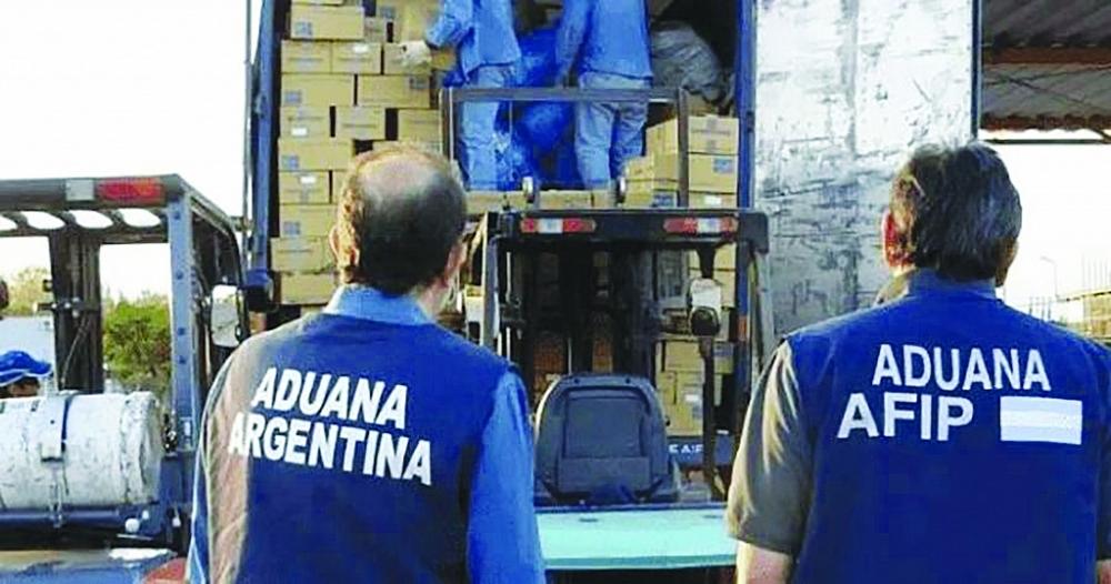 Hoạt động nghiệp vụ của Hải quan Argentina.