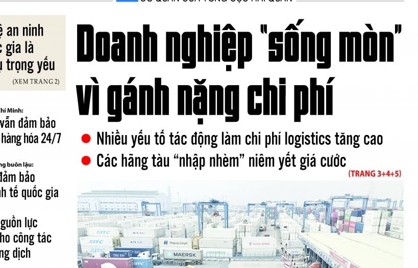 Những tin, bài hấp dẫn trên Tạp chí Hải quan số 56 phát hành ngày 13/7/2021