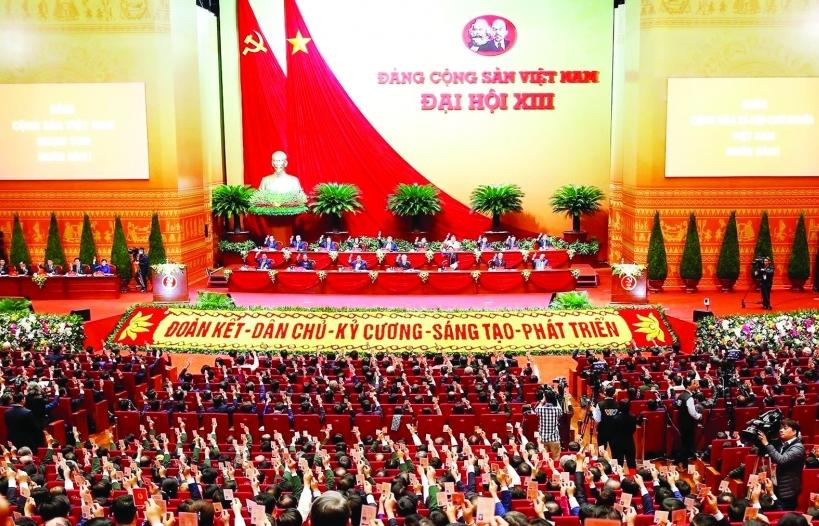 Nghị quyết Đại hội XIII của Đảng cụ thể hóa khát vọng xây dựng đất nước hùng cường của Chủ tịch Hồ Chí Minh vĩ đại