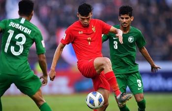 Thái Lan chơi lép vế trước Saudi Arabia, dừng bước ở tứ kết U23 châu Á