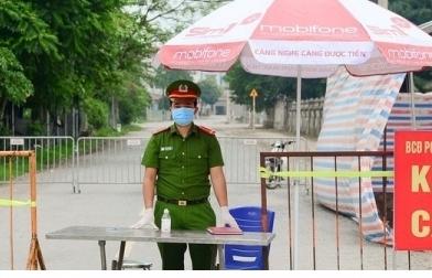 Hưng Yên phong tỏa 1 xã, giãn cách xã hội 2 huyện từ 0h ngày 10/2