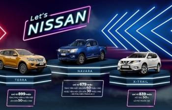 Nissan Việt Nam ưu đãi lớn trong tháng 3