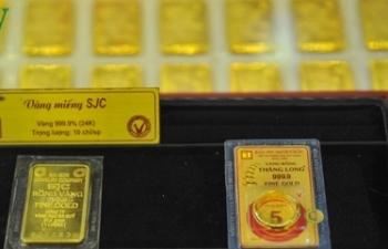 Giá vàng trong nước và thế giới cùng tăng mạnh