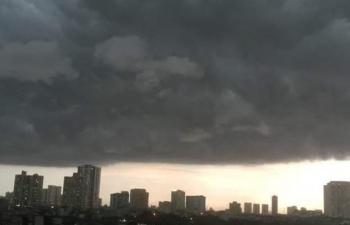 Dự báo thời tiết hôm nay: Bắc Bộ có mưa dông trên diện rộng