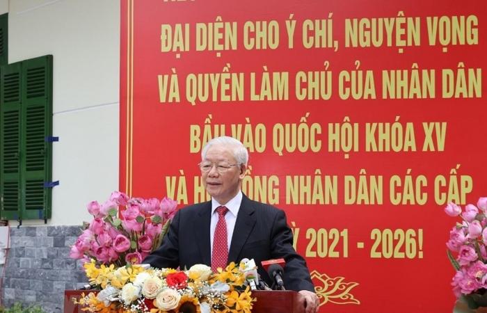 Tổng Bí thư: Đất nước sẽ bước vào giai đoạn phát triển mới