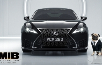 """Bom tấn """"MIB™: Đặc vụ Áo Đen: Sứ mệnh toàn cầu"""" xuất hiện với hình ảnh siêu xe Lexus RC F."""