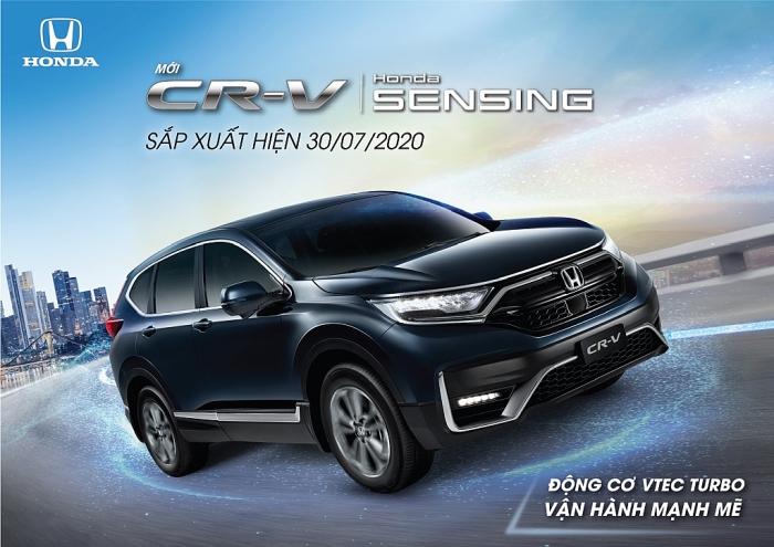 Honda CR-V 2020 sẽ ra mắt thị trường Việt Nam vào cuối tháng 7