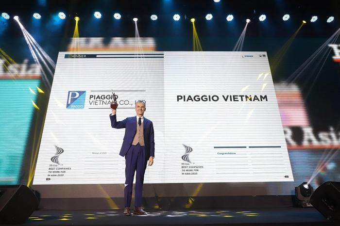 Piaggio Việt Nam tiếp tục lọt danh sách công ty có môi trường làm việc tốt nhất Việt Nam