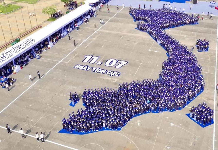 Red Bull khởi xướng Ngày tích cực, xác lập kỷ lục châu Á