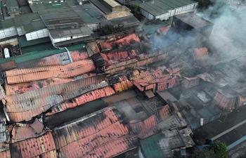 Chủ tịch Hà Nội ký văn bản hỏa tốc khắc phục sự cố cháy ở Công ty Rạng Đông