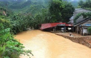 Mưa lớn gây thiệt hại ở nhiều địa phương của Hà Giang, Quảng Ninh