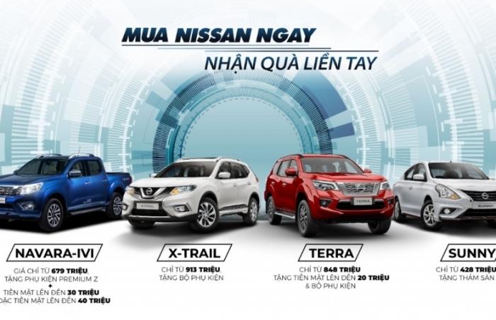 Tháng 9/2020, Nissan Việt Nam tiếp tục ưu đãi khủng