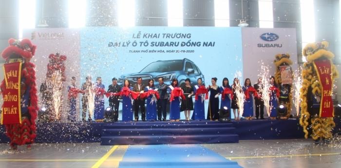 Motor Image Việt Nam khai trương đại lý mới Subaru Đồng Nai