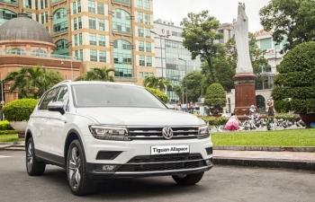 Volkswagen khuyến mại cho khách hàng mua Tiguan Allspace Highline