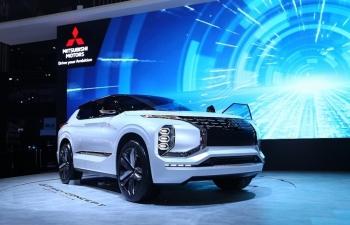 Ngắm nhìn mẫu xe ý tưởng GT-PHEV của Mitsubishi