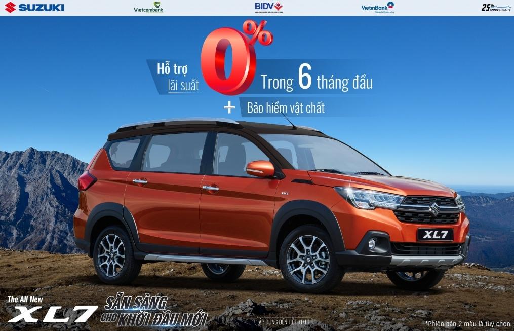Suzuki ưu đãi lớn cho tất cả các dòng xe