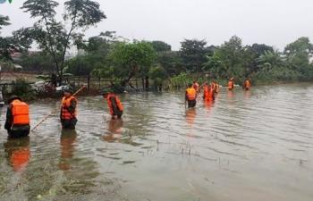 Bão số 6 giật cấp 13 có thể gây ngập lụt diện rộng khu vực miền Trung
