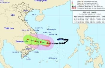 Ảnh hưởng của bão số 6, nhiều nơi có mưa to đến rất to