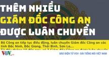 them nhieu giam doc cong an duoc luan chuyen bo nhiem