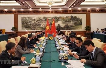 Đàm phán cấp chính phủ về biên giới lãnh thổ Việt-Trung ở Bắc Kinh