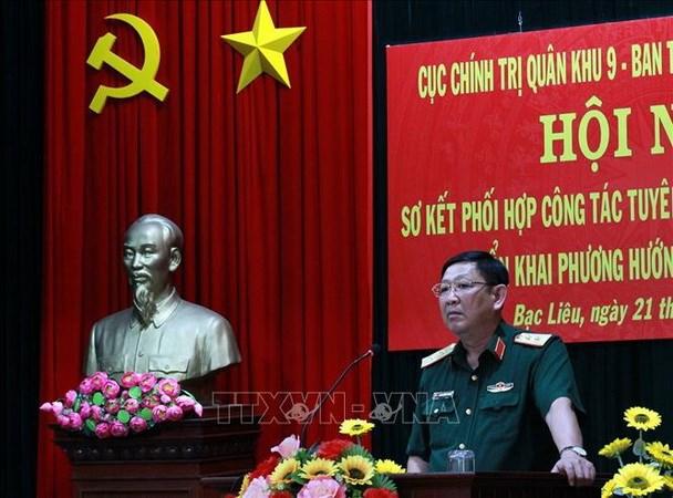 Bo nhiem Chinh uy Quan khu 9 lam Pho Tong Tham muu truong QDND hinh anh 1