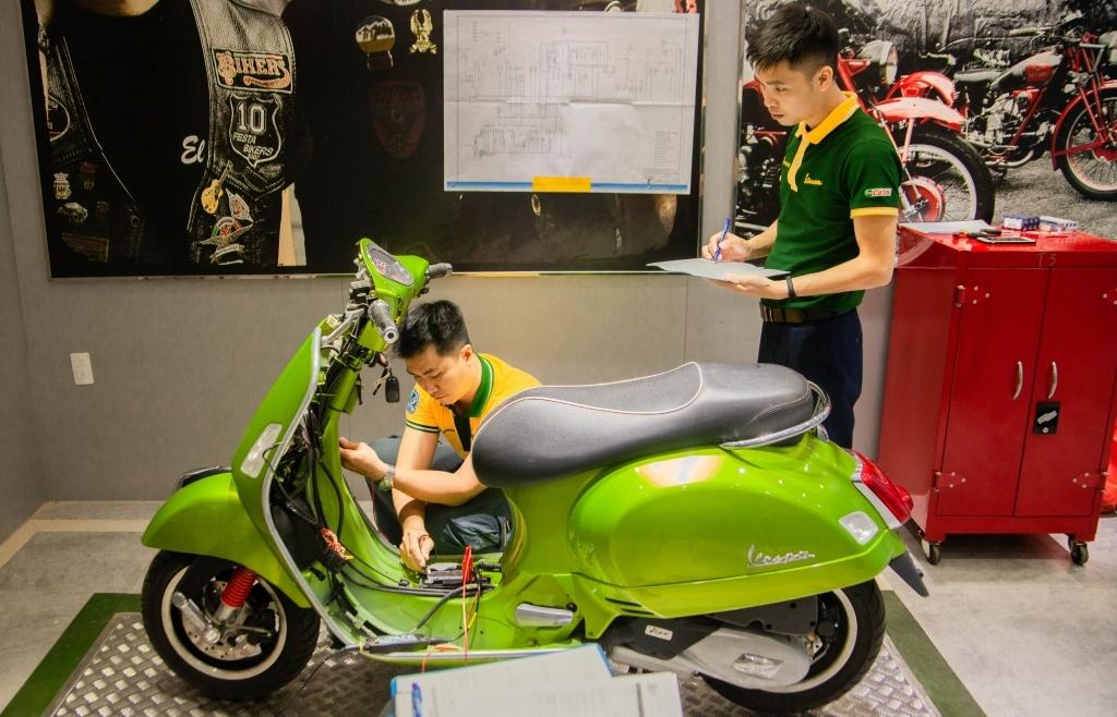Piaggio Việt Nam tổ chức thi kỹ thuật viên giỏi 2020