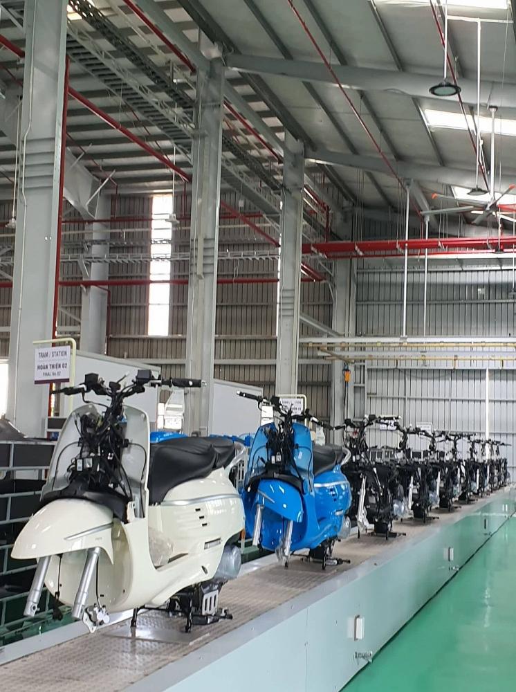 Việt Nam trở thành trung tâm sản xuất xe máy Peugeot xuất khẩu ra thế giới