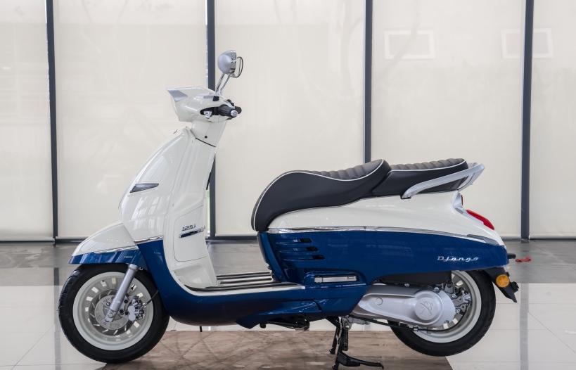Sản xuất tại Việt Nam, Peugeot Django có giá 68 triệu đồng