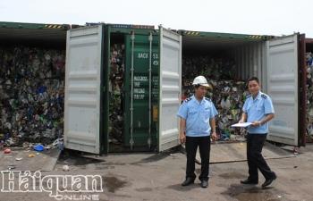 Buộc các hãng tàu tái xuất nếu vận chuyển rác thải vào Việt Nam