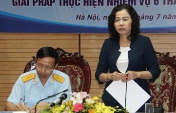 Thứ trưởng Bộ Tài chính Vũ Thị Mai: Ngành Hải quan phấn đấu vượt 5% chỉ tiêu thu NSNN