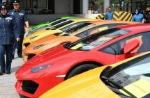 Bắt giữ 21 chiếc ô tô hạng sang