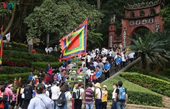 Giỗ Tổ Hùng Vương năm 2020 không hạn chế người dân đến dâng hương