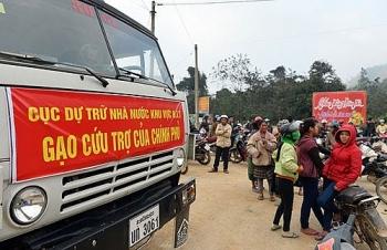 Tiếp tục xuất cấp gạo hỗ trợ nhân dân