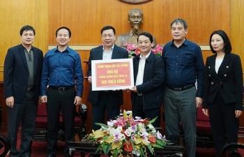 Cơ quan Bộ Tài chính ủng hộ 500 triệu đồng hỗ trợ công tác phòng chống Covid-19