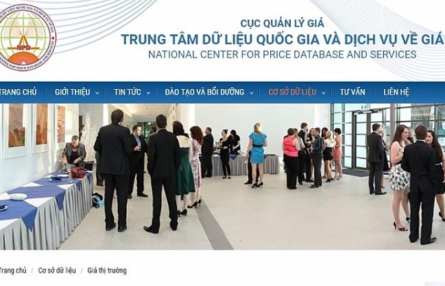 Sắp công khai Cơ sở dữ liệu quốc gia về giá