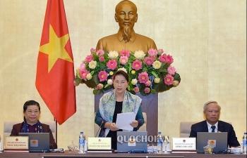 Khai mạc phiên họp 33 của Ủy ban Thường vụ Quốc hội