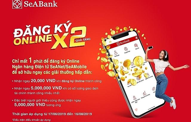 dang ky online su dung mien phi ngan hang so seabank