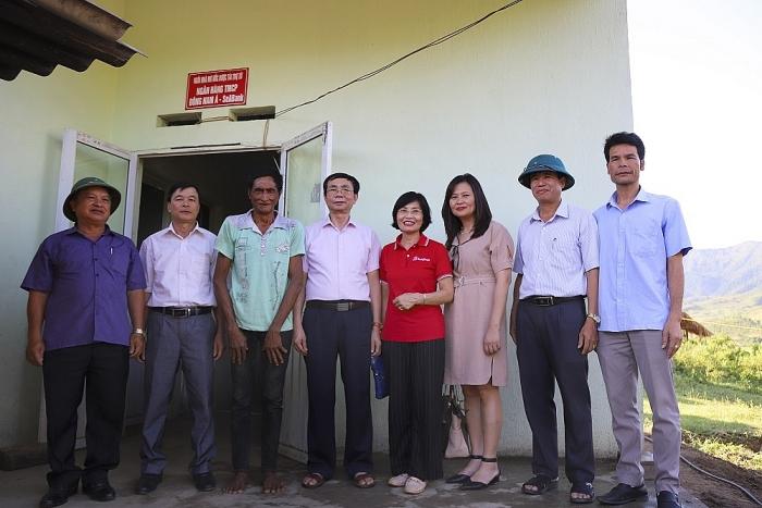 SeABank tặng nhà cho hộ nghèo và học bổng cho trẻ khó khăn tại Điện Biên