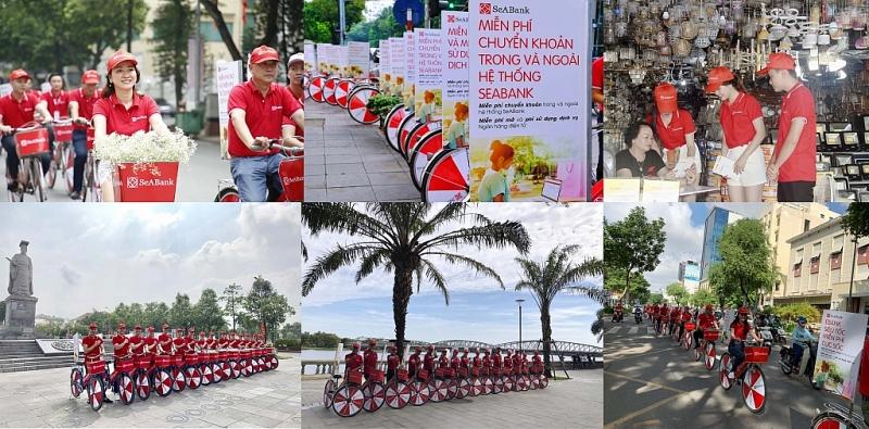 seabank roadshow huong ung khong dung tien mat va mien phi chuyen tien