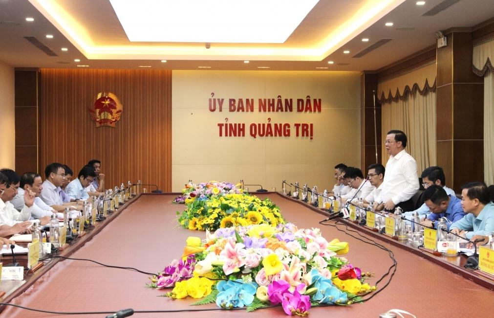Bộ trưởng Bộ Tài chính: Quảng Trị đã khẳng định lối đi đúng và bước đầu có kết quả
