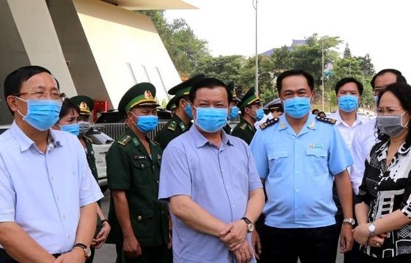 Bộ trưởng Đinh Tiến Dũng kiểm tra công tác tại Khu kinh tế cửa khẩu Đồng Đăng - Lạng Sơn