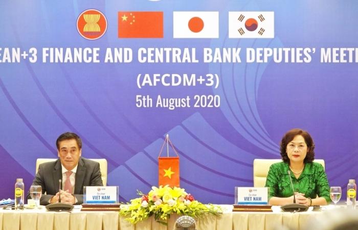 AFCDM+3: Xem xét tiến độ triển khai các sáng kiến mới trong Tiến trình Hợp tác Tài chính ASEAN+3