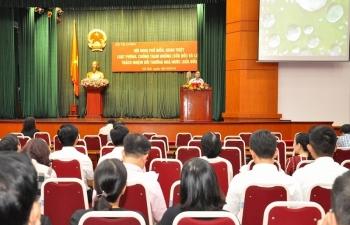 Bộ Tài chính tổ chức phổ biến, tuyên truyền 2 bộ luật lớn mới ban hành