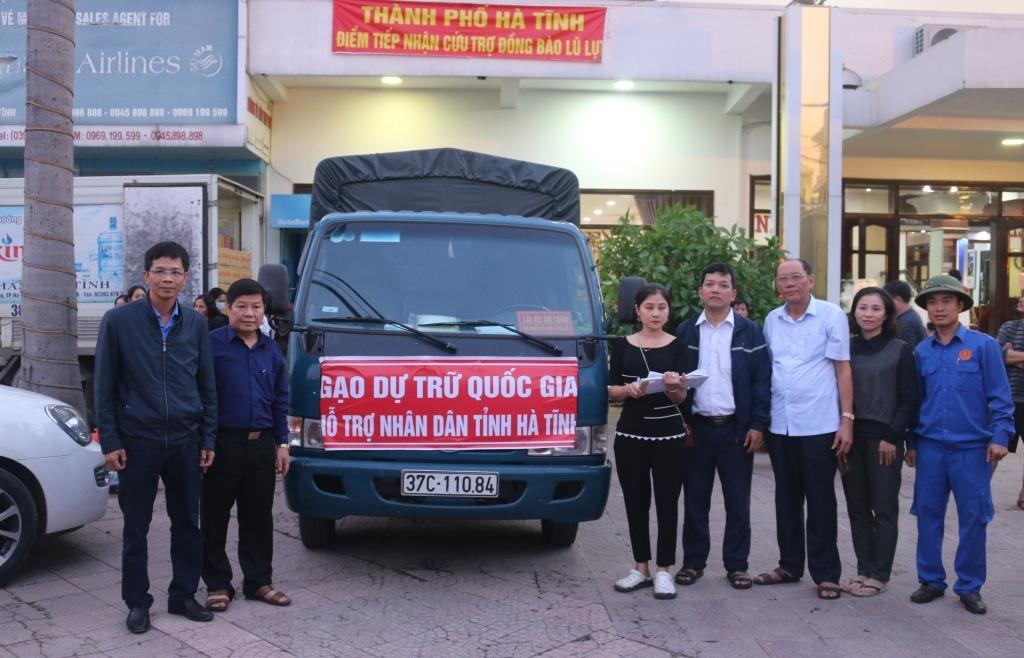 Hoàn thành công tác xuất cấp hàng dự trữ đợt 1 hỗ trợ người dân các tỉnh miền Trung